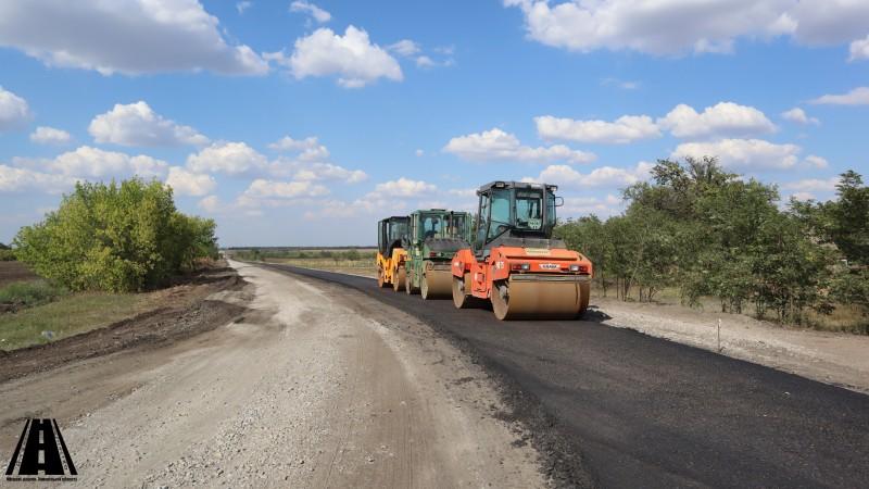 Роботи, які виконуються ДП «Місцеві дороги Запорізької області» у вересні 2020 року (по районах)