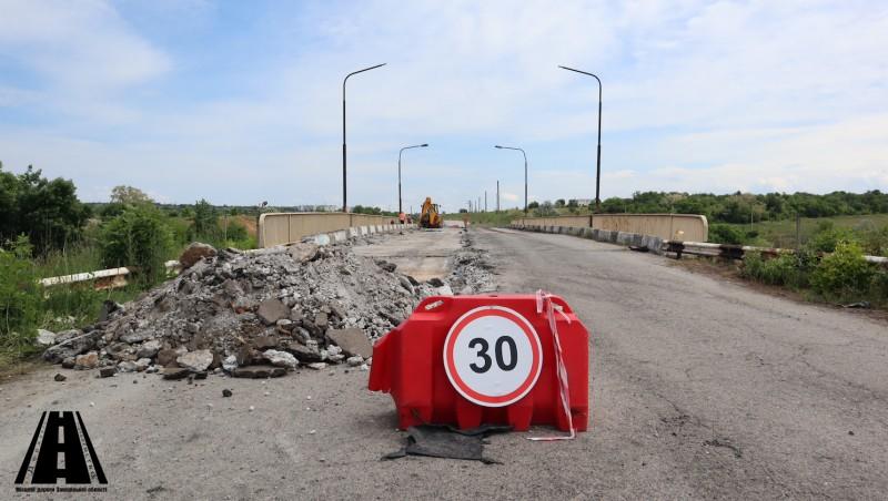 У Василівському районі розпочато ремонт шляхопроводу