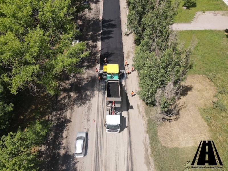 У  Мелітополі триває поточний середній ремонт вулиць Івана Алексєєва та Каховське Шосе