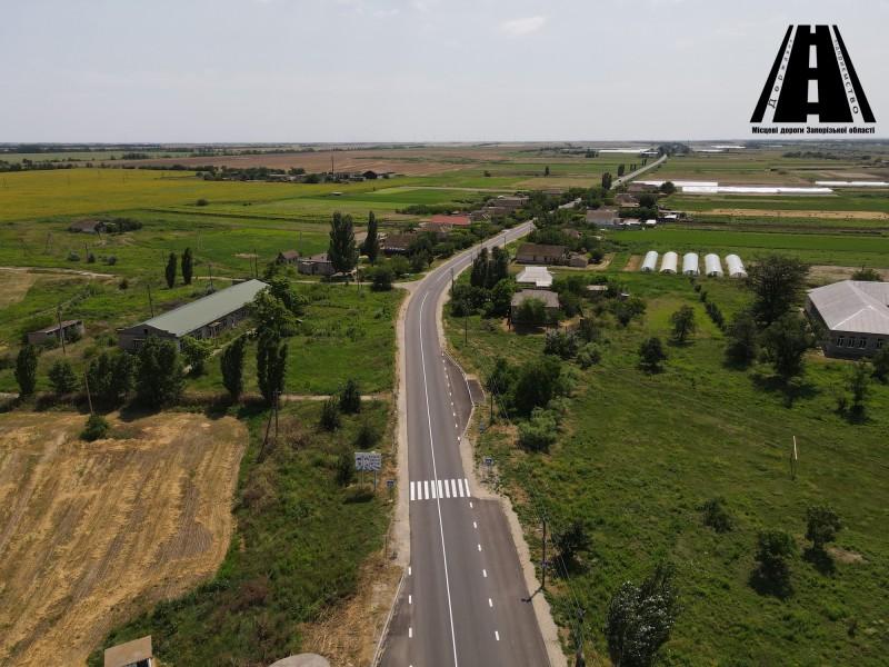 Виконання поточного середнього ремонту на ділянці автошляху О081030 біля села Мордвинівка завершено