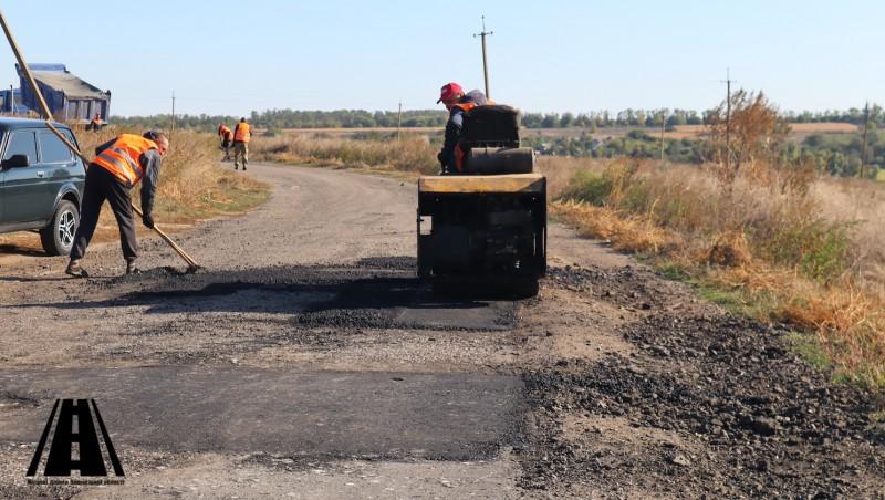 Стан робіт, виконаних на замовлення ДП «Місцеві дороги Запорізької області» на 8.10.2021р.